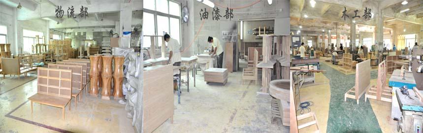 餐桌椅厂家海德利工厂展示