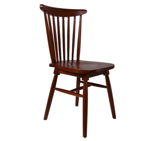 西餐厅温莎椅_实木温莎椅-北欧简约西餐椅厂家定做