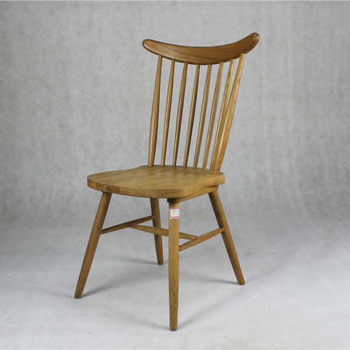 茶餐厅温莎椅_水曲柳实木餐椅_牛角茶餐厅椅子-厂家定做