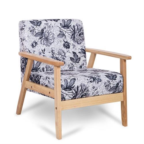 2017最新实木单人沙发椅-品牌厂家定制直销