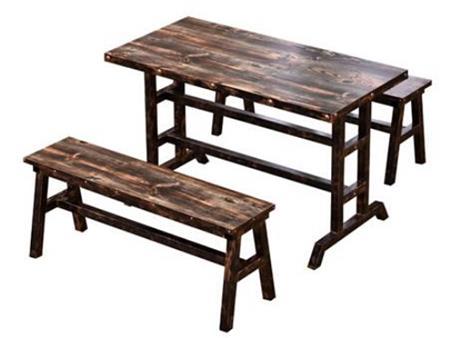 实木食堂桌椅