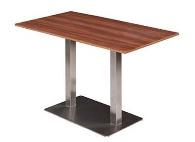 2人位食堂桌椅