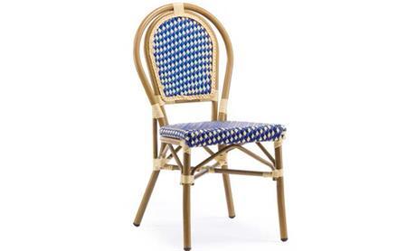 户外藤编西餐厅椅子