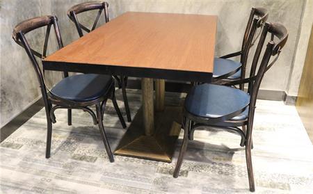 铁艺西餐厅桌椅