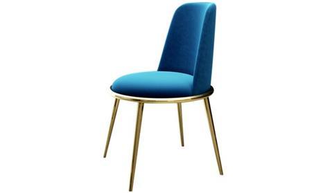 轻奢类西餐厅椅子