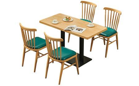 快餐店桌椅批发定制价格是多少?怎么选快餐厅桌椅?