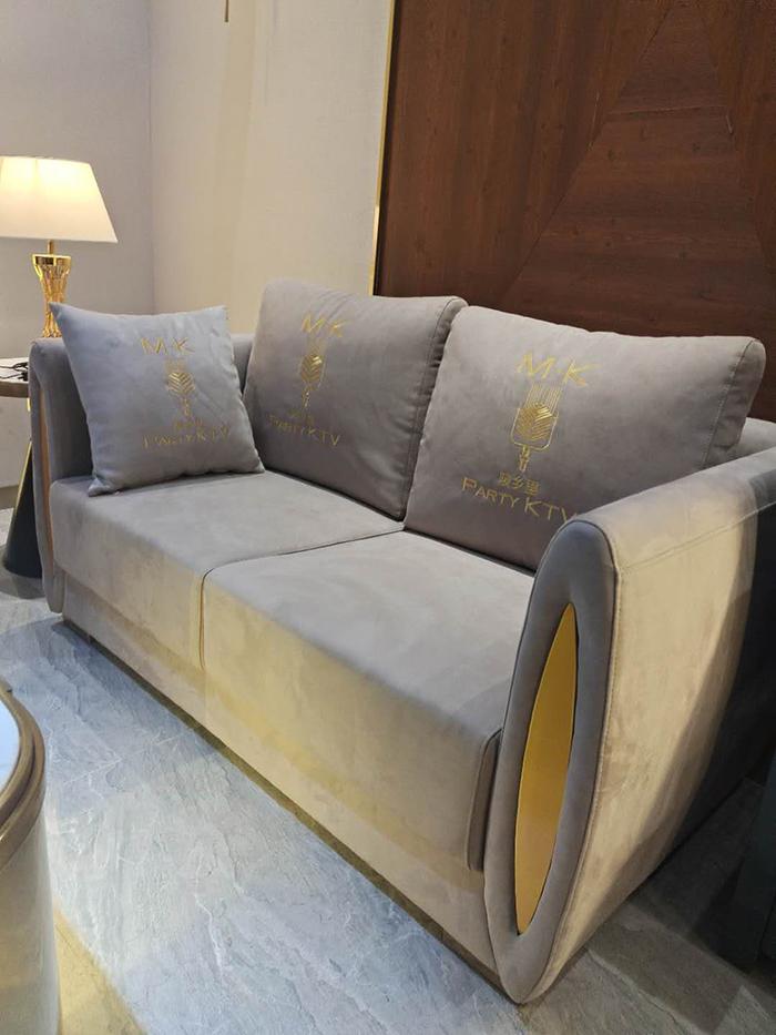 ktv包房轻奢沙发