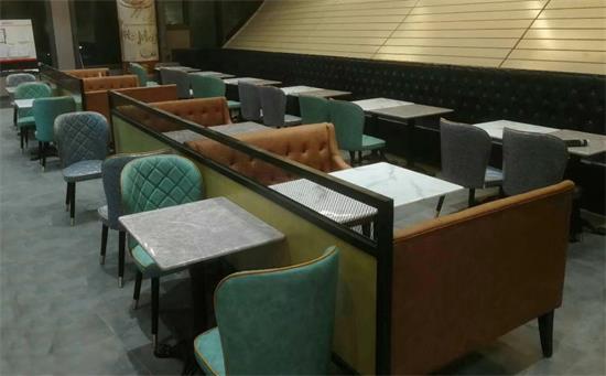 深圳喔喔嘴铁板烧DIY·牛排简餐餐厅桌椅