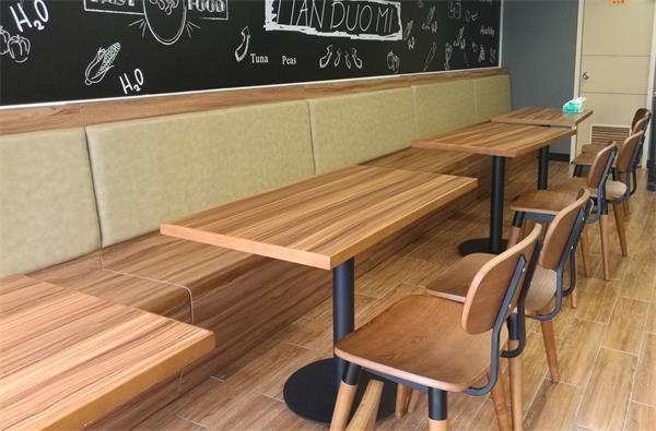 员工食堂餐厅桌椅