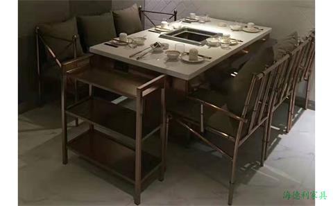 无烟电磁炉火锅桌