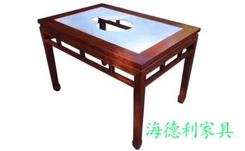 实木电磁火锅桌