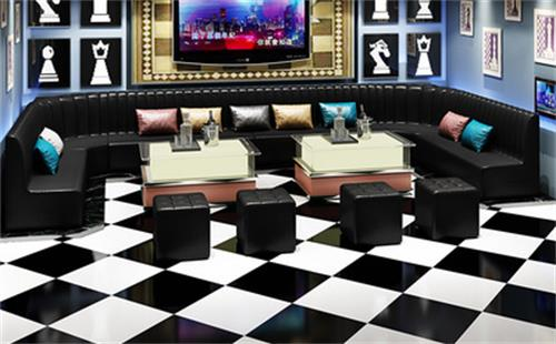 酒吧单人沙发欧式