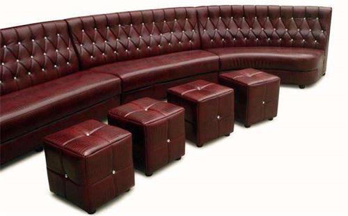 酒吧单人沙发
