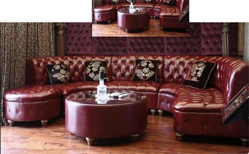 酒吧休闲沙发
