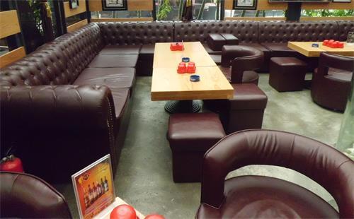 酒吧卡座沙发
