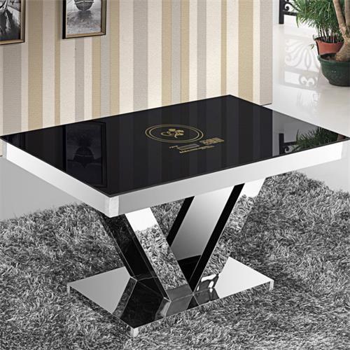 钢化玻璃面电磁玻璃火锅桌