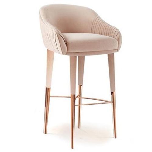 现代欧美风咖啡厅轻奢休闲吧椅