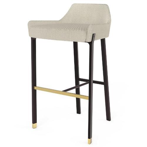 现代简约实木休闲吧椅咖啡店家具