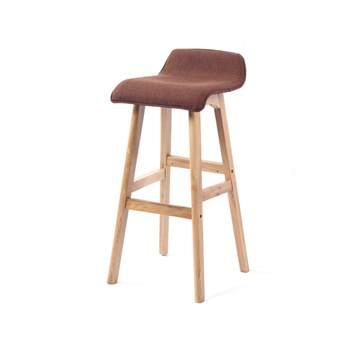 咖啡厅高脚吧椅  咖啡店实木吧椅-咖啡馆高吧椅定做