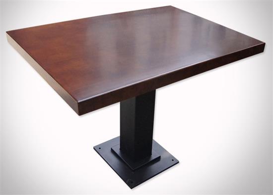 实木茶餐厅桌子_茶餐厅家具桌椅