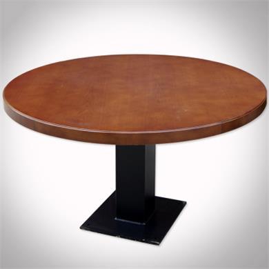 实木茶餐厅桌子_茶餐厅圆形实木餐桌