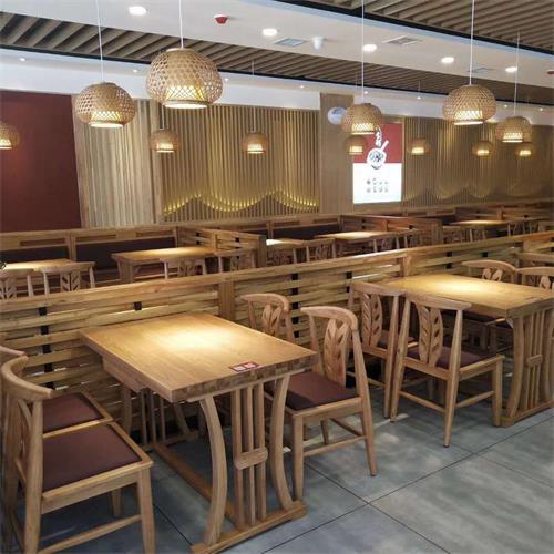 新款茶餐厅家具实木桌椅-广州茶餐厅家具厂家批发