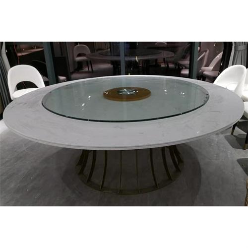 轻奢港式风茶餐厅大理石茶餐桌_茶餐桌椅定做
