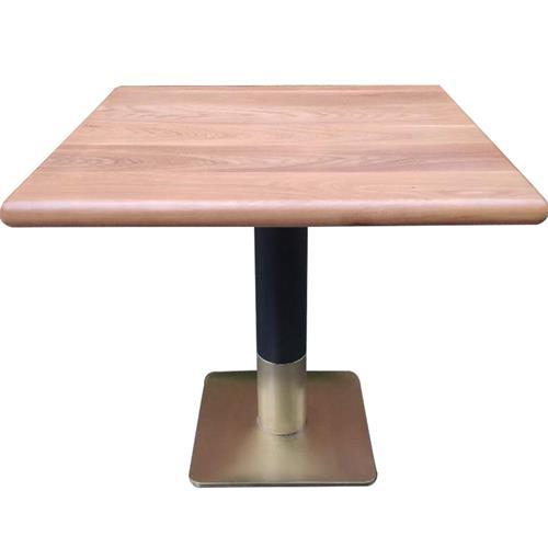 绿茶茶餐厅中式风格实木桌椅-茶餐厅桌椅工厂定制