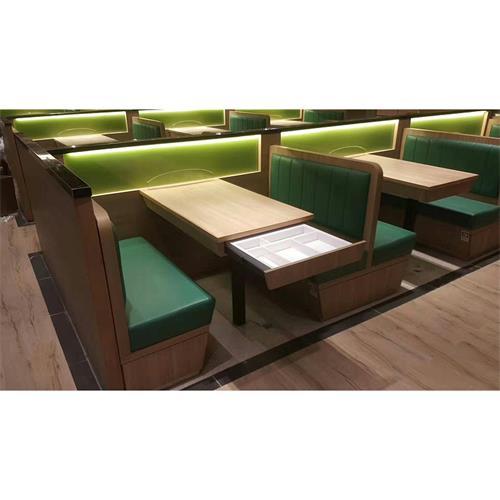 深圳茶餐厅桌椅卡座沙发_时尚清晰港式茶餐厅桌椅