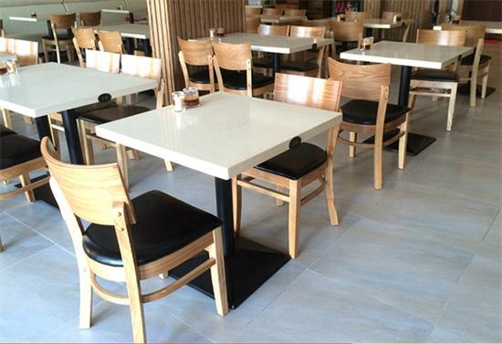 茶餐厅大理石桌椅