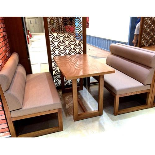 4人位休闲实木餐桌茶餐厅实木桌椅
