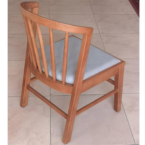 2019新款时尚休闲茶餐厅实木椅子