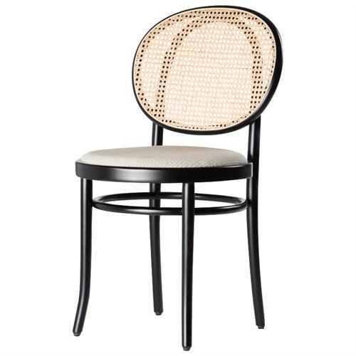 北欧现代藤编实木茶餐厅酒店咖啡厅靠背休闲椅