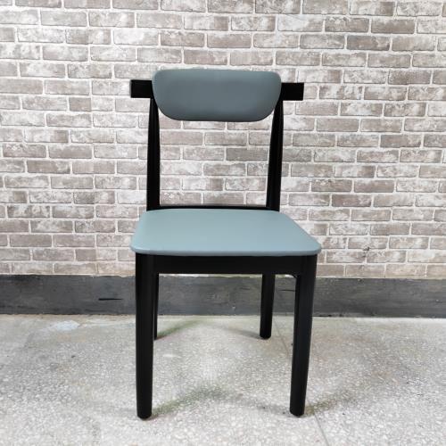 花之林茶餐厅休闲实木椅_港式茶餐厅时尚餐椅