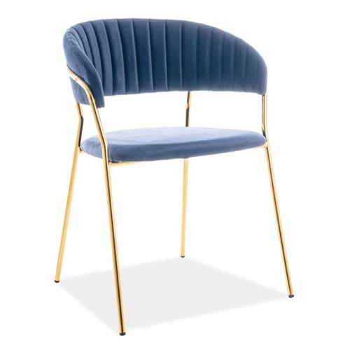 茶餐厅钛金不锈钢简约金属椅