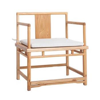 茶餐厅老榆木椅子 圈椅禅椅茶椅扶手椅