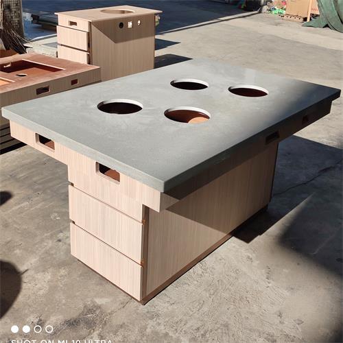 一人一锅小火锅店自助电磁炉小火锅桌
