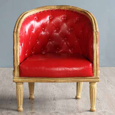 美式乡村怀旧沙发 法式复古实木咖啡厅沙发