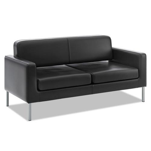 商务会所现代轻奢风格双人沙发