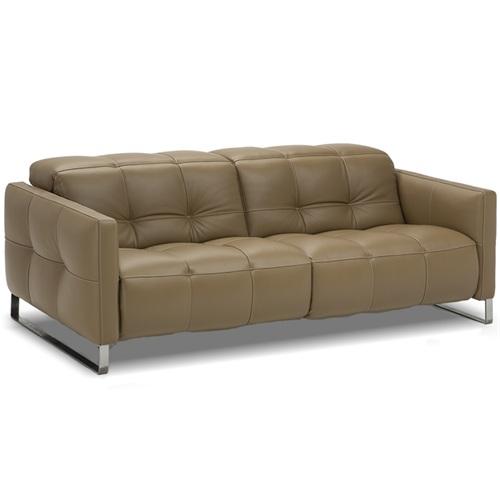 豪华会所不锈钢轻奢皮艺双人沙发