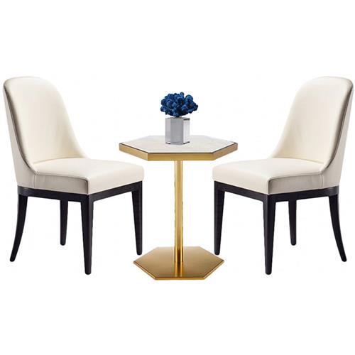 豪华会所家具时尚轻奢洽谈桌椅