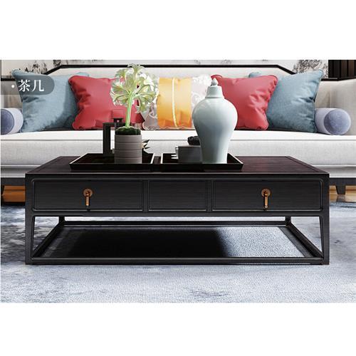 新中式会所家具-茶几