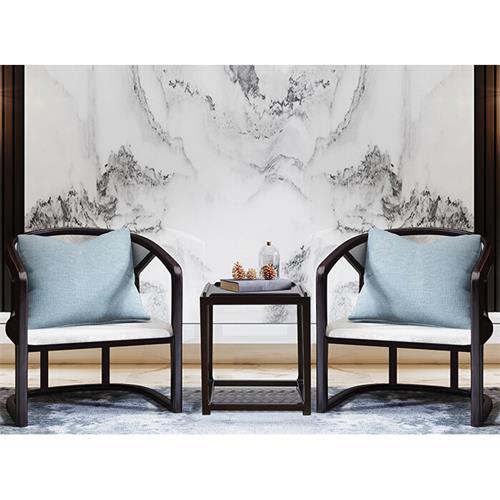会所别墅大厅高级新中式扶手椅