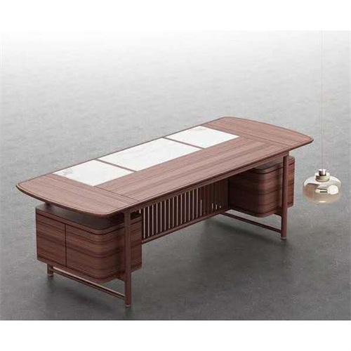 售楼处新中式高档会所书桌