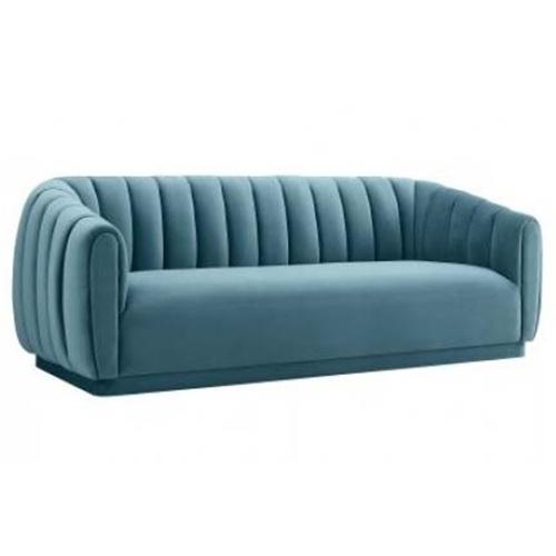 别墅豪宅现代皮革软包会所沙发椅家具