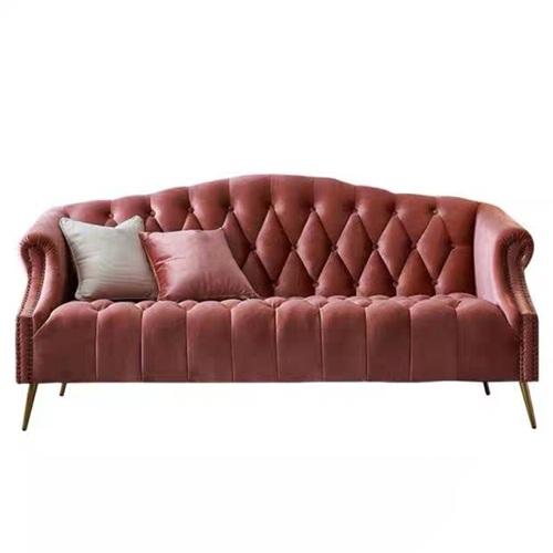 欧式时尚皮革沙发会所家具