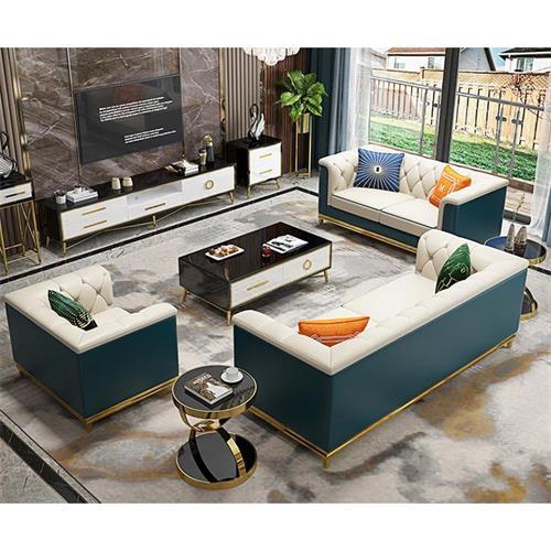 后现代轻奢风格高档会所家具