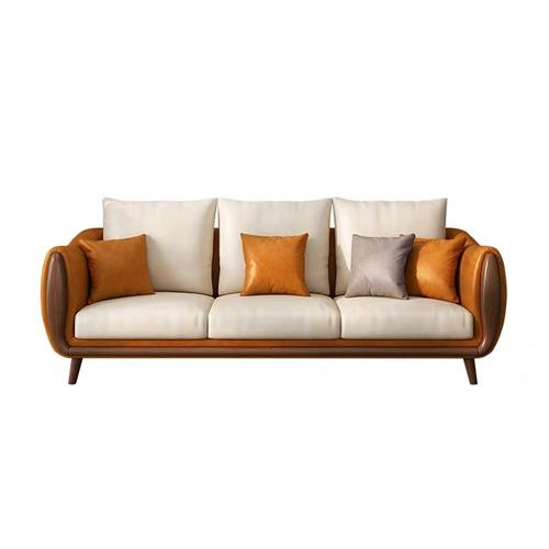 高档会所ktv真皮实木软包沙发家具