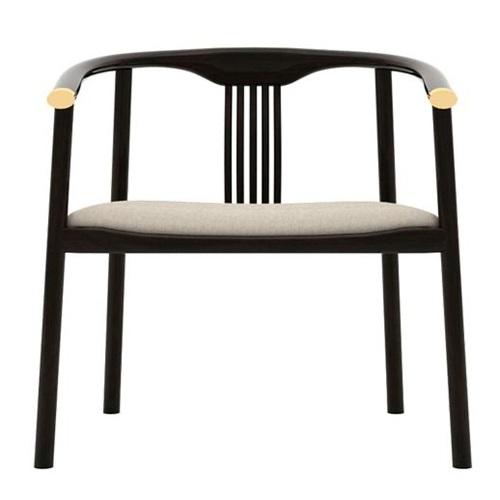 高档会所酒店接待区中式古典实木椅子