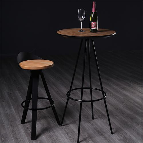 工业风复古风格酒吧铁艺酒吧桌